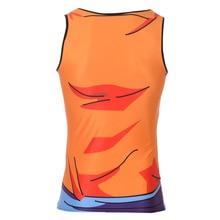 Bodybuilding Fitness Men T Shirt Goku Dragon Ball Vest Tank Top