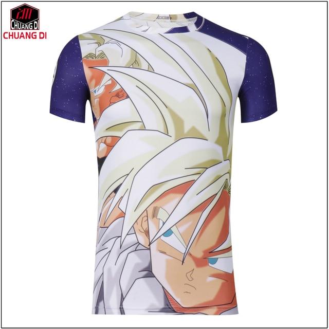 2017 New fashion Japan anime Dragon Ball Z character Goku 3D t shirt women/men harajuku cartoon t shirt casual tee tops cosplay