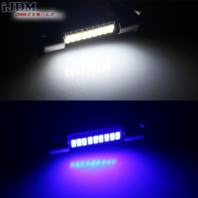 Sun visor  LED light Bulbs for Honda Accord Crosstour 4 Pcs Xenon White Vanity