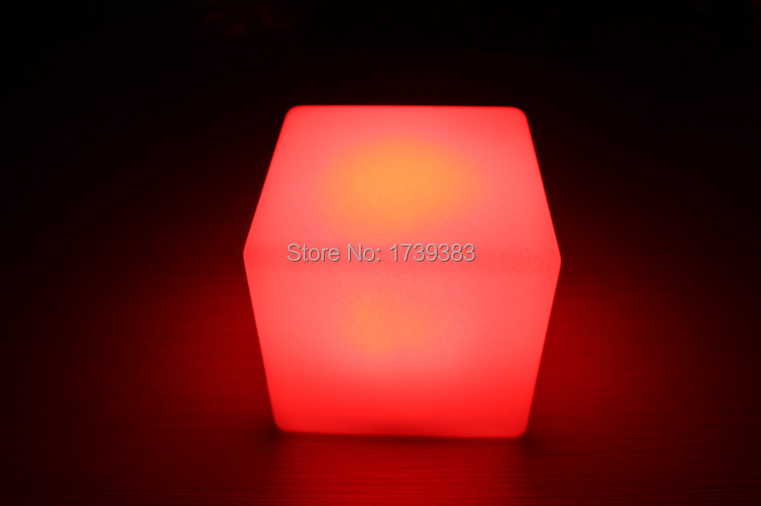 13cm magic dice waterproof waterproof led glowing square night light decorative led. Black Bedroom Furniture Sets. Home Design Ideas