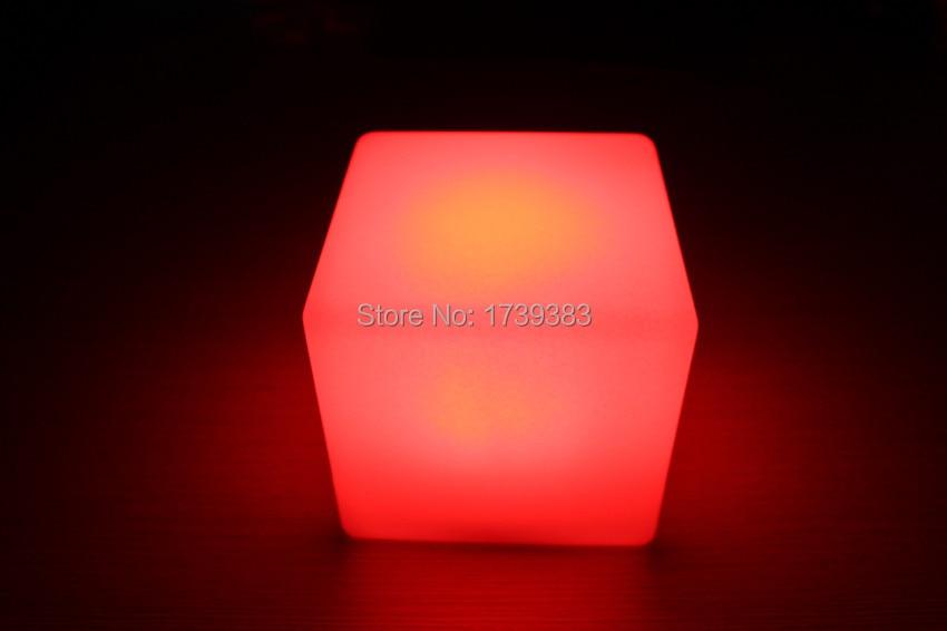 13cm magic dice waterproof waterproof led glowing square night light decorative led. Black Bedroom Furniture Sets. Home Design Ideas