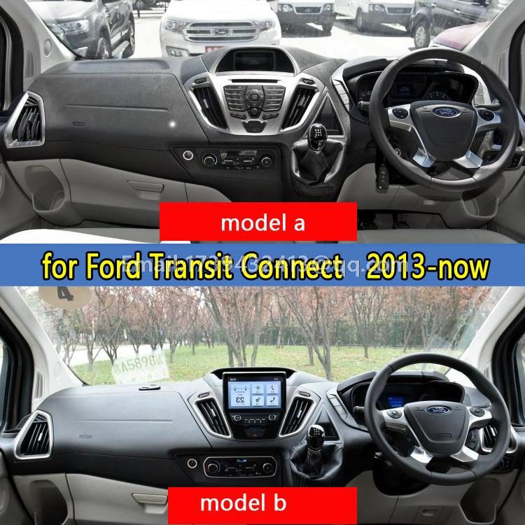 Car dashboard covers accessories sticker dashmat for Ford Transit Connect Titanium Wagon 2013 2014 2015 2016 rhd dashmat original dashboard cover buick skyhawk