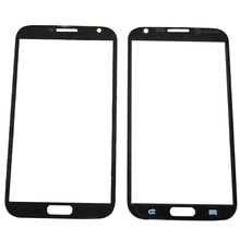 цена на Touch Screen Lens For Samsung Galaxy Note 2 N7100 N7105 Front Outer Glass Cover Panel Replacement