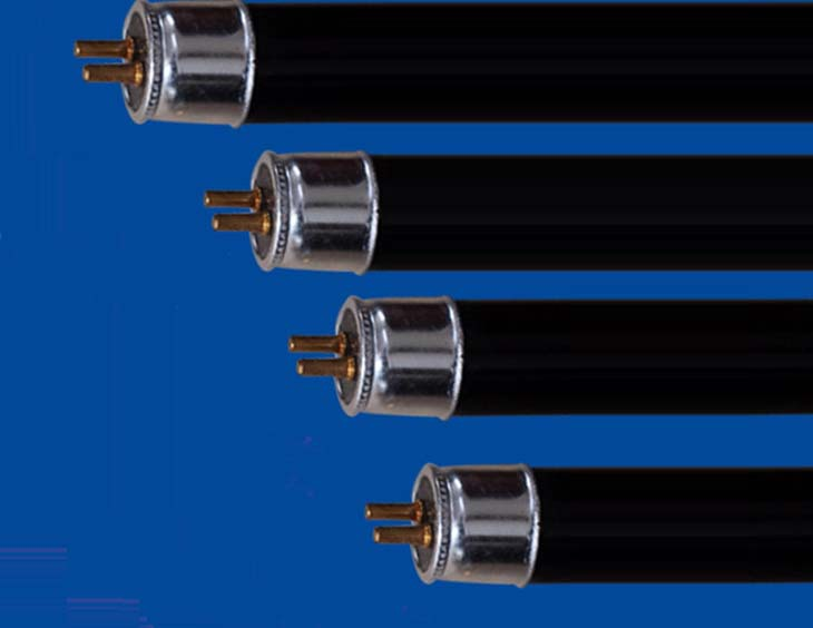 2 Pack T5 4w 6w 8w Energy Saving Uv Black Light Blue