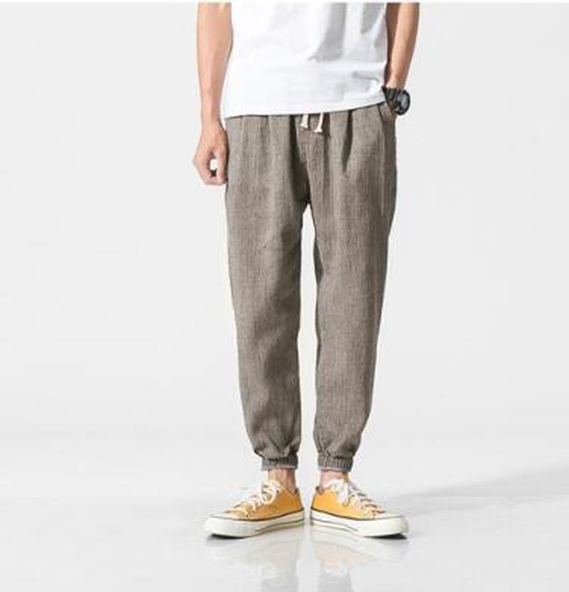 ZOGAA Plus Size Casual Harem Pants Men Jogger Pants Men Fitness Trousers Male Chinese Traditional Harajuku 2019  Summer Clothes