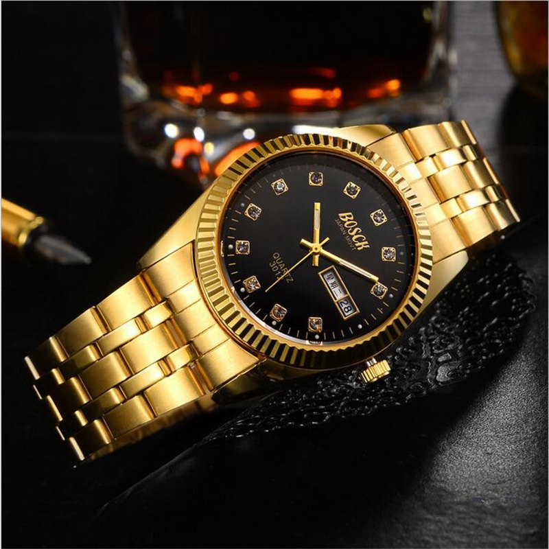 Foreign Trade Watch large multi-time zone men's quartz watch