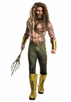 2017 NEW ARRIVAL Deluxe Child Muscle Dawn Of Justice Aquaman Halloween Costume Boys DC Justice League