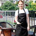 Moda Cozinha Restaurante Cozinha Bib Avental de Trabalho Aventais Para Mulheres Homens Com Bolso Garçom Chef Cozinha Cozinhar Ferramenta U0726