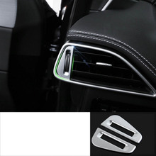 lsrtw2017 pearl chrome abs car dashboad vent trims for jaguar F-pace 2016 2017 2018 2019 lsrtw2017 pearl chrome abs car steering wheel trims for jaguar f pace xe xf 2016 2017 2018 2019