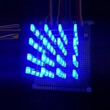 4X4X4 Blue LED Light Kit 3D LED DIY Kit Electronic Suite for Arduino