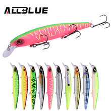 ALLBLUE KRAKEN 128SP Best Quality Fishing Wobbler 22g/128mm Suspend Minnow Pike Bass Fishing Lures peche isca artificial Tackle(China)