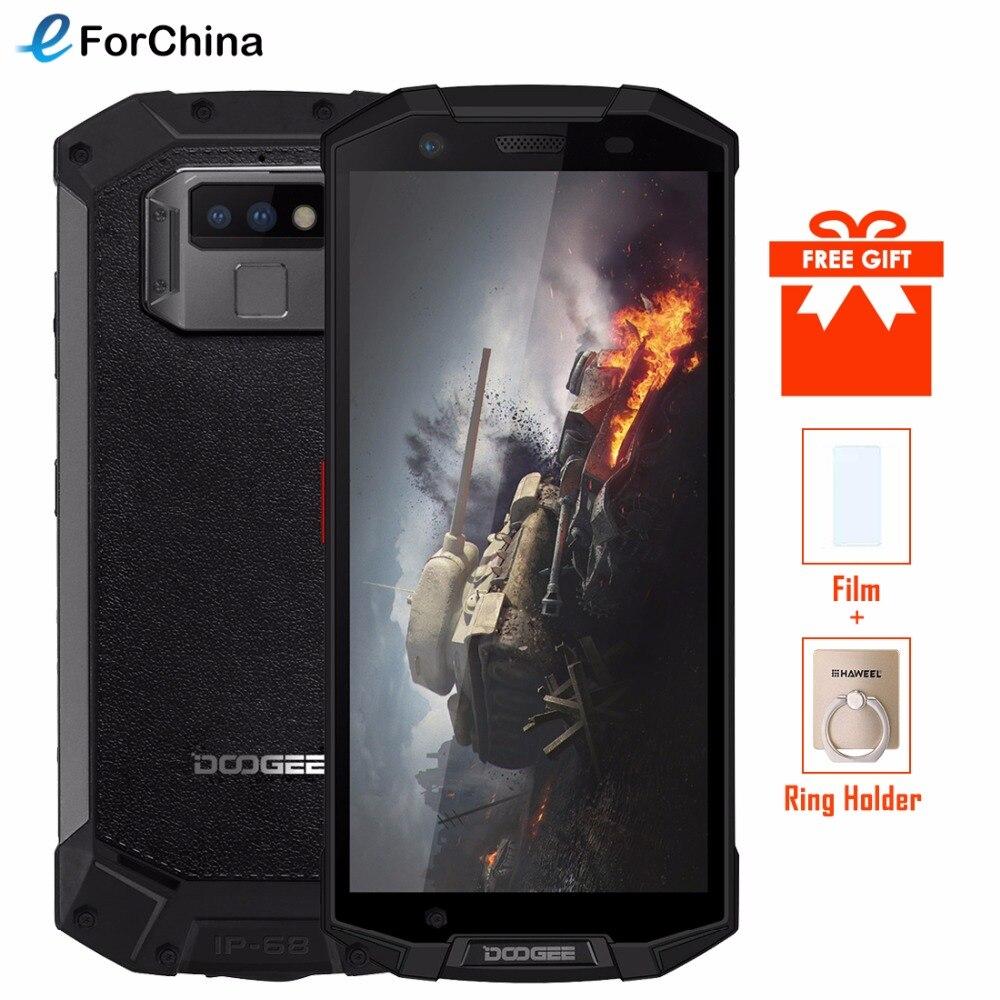 DOOGEE S70 IP68 IP69K Impermeabile 4g SmartPhone 5.99 pollice MT6763 Octa Core 6 gb + 64 gb 16MP + 12MP Dual Posteriore della Macchina Fotografica del Android 8.1 NFC