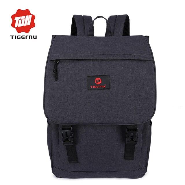 2017 Fashion Women Backpack Mini Laptop Ipad bags Tigernu Brand Man Backpacks School Bag Leisure  Travel Bags