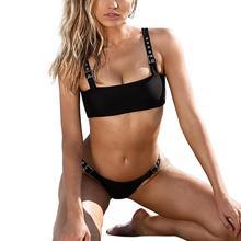 47cdae51c5dd4 Snowshine3 YLW Для женщин комплект бикини Купальники пуш-ап сплошной  купальный бюстгальтер купальник Beachwear(
