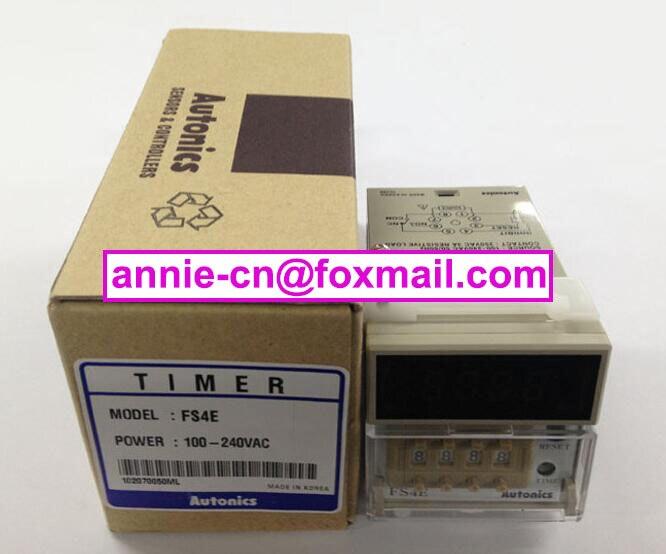 New and original   FS4E    Autonics  TIMER  100-240VAC fs v21rp original