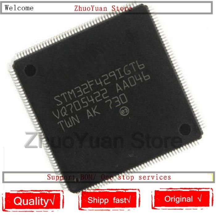 1PCS/lot New Original STM32F429IGT6 STM32F429 LQFP176 IC Chip