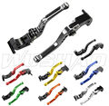 DIY Colors Motorcycle Adjustable Short Brake Clutch Levers For 2006-2010 Hyosung GT650R GT250R 06 07 08 09 10 2007 2008 2009
