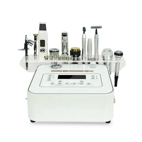 10 in 1 multifunction beauty equipment/skin energy activation facial rf microdermabrasion diamond machine for sale Multan