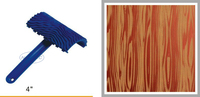 4 Rubber Wood Grain Liquid Wallpaper Tools NWG43 FREE Shipping 100mm Woodgrain Tool Art Textured Tools