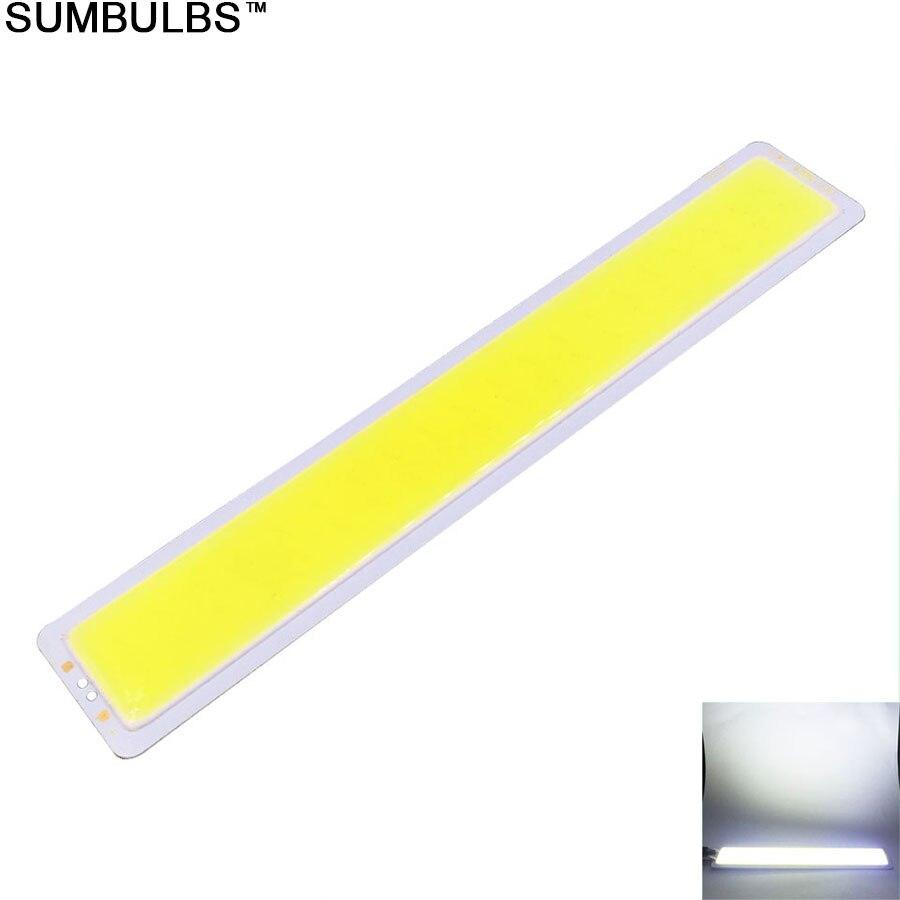 [Sumbulbs] большая акция 150x26 мм 5 Вт удара Светодиодные ленты лампы DC 12 В чип на baord 15 см бар свет 500lm Теплый Холодный белый DIY Освещение