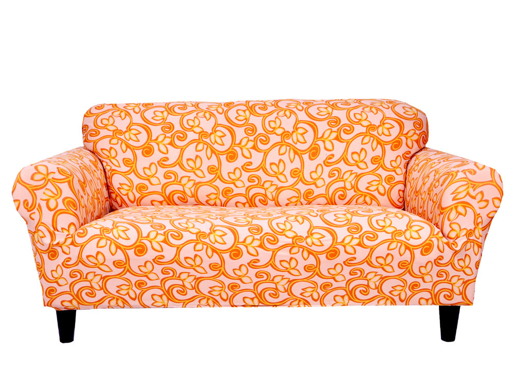orange sofa slipcover – Home Decor 88