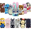 25 Types For Huawei Honor 4X Case Lovely Cute 3D Cartoon Soft Silicon Cover For Huawei Honor 4X Mobile Phone Case