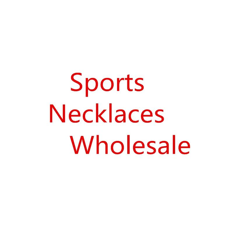 Wholesale sports replica men's necklace spot