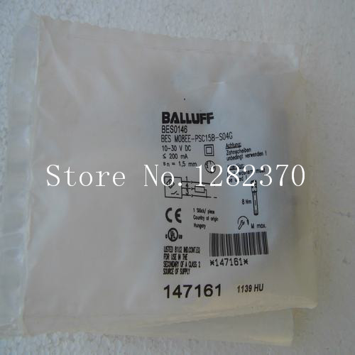 [SA] New original special sales BALLUFF sensor BES M08EE-PSC15B-S04G spot 4pcs new for ball uff bes m18mg noc80b s04g