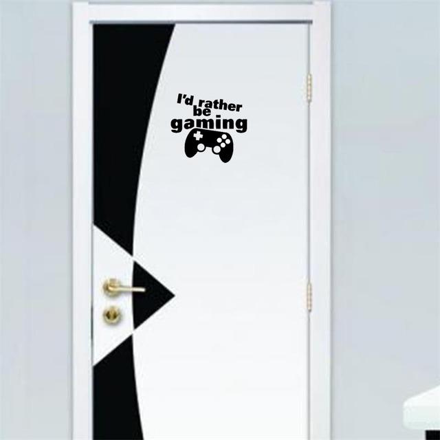Gamers Wall Decal Room Door Sticker….Decorate your Gamer room…..