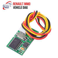 For Renault Immo Emulator Immobilizer Programmer Module EDC15C3 DCU3R MSA15 SiriuS32 Fenix5 Immo Tool