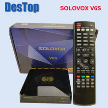 SOLOVOX S V6S Satellite TV Receiver Home Theater HD Support M3U TV Xtrem Satellite Receiver USB WIFI option receptor