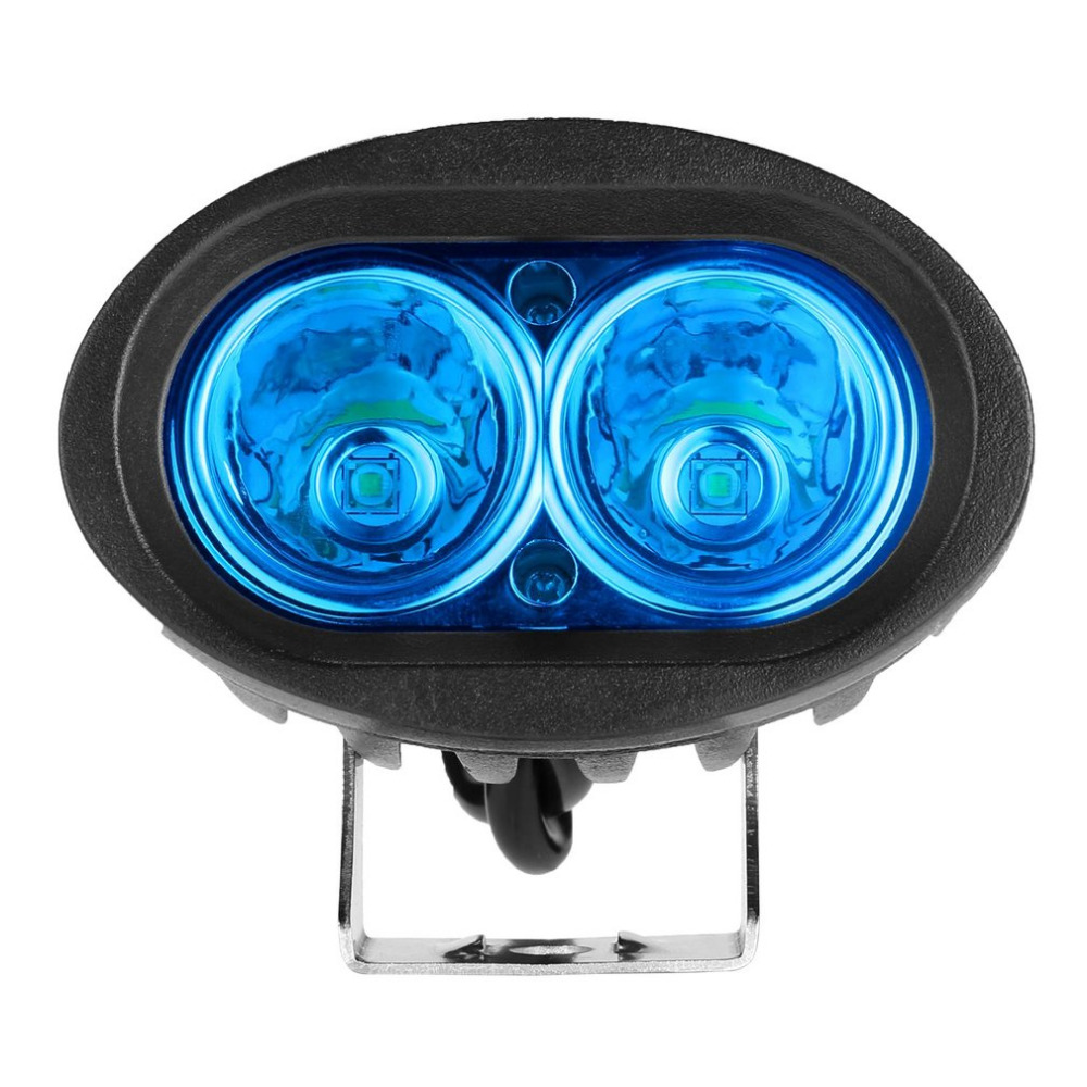 Newest Oval Shape Driving Work Light Spot Warning Emergency Work Lamp LED Forklift Light Durable Safety For Truck 12V 20W Hot camp safety oval xl 3lock