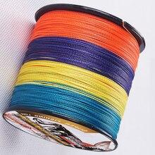 300m Super strong  Multi-colors Japan Multifilament PE Braid Fishing Line 6LB 8LB 10LB 15LB 20LB  40LB 50LB 60LB  80LB  SPECTRA