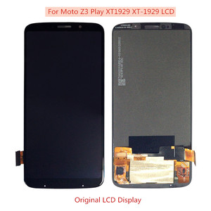 Image 2 - Test Amoled Screen For Motorola Moto Z3 Play LCD Display Touch Screen Digitizer Assembly Replacement Parts For Moto XT1929 LCD