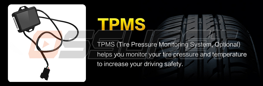 Car Monitor TPMS only fits for our store Ossuret Brand car DVD players|Vehicle Camera| |  -