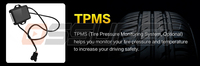 Car Monitor TPMS only fits for our store Ossuret Brand car DVD players