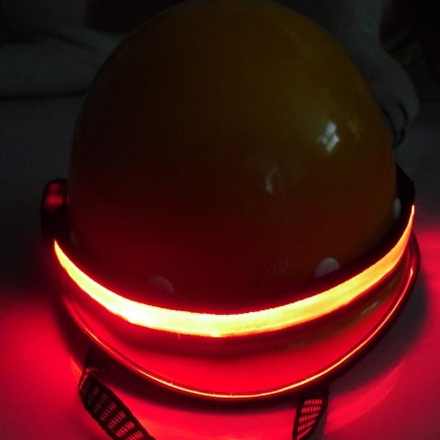 LED Flashing Glowing In The Dark Belt Illuminating Safety