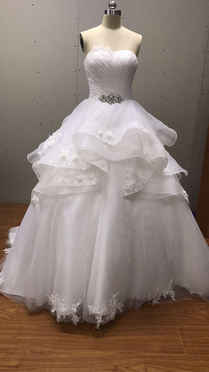 202 73 Western Populaires Robe De Bal En Dentelle Appliques Robes De Mariee Avec Dentelle Up Bretelles Robes De Mariee Princesse Style Boutique En