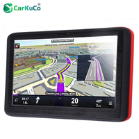 Portable 5 Inch GPS Navigator Car Truck Navigation Case MTK FM Sat Nav Navitel Russia Map Europe America Asia Africa Israel Maps
