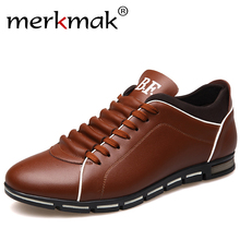 New 2017 Luxury Brand Men Shoes England Trend Casual Leisure Shoes Leather Shoes Breathable For Male Footear Loafers Men's Flats(China)