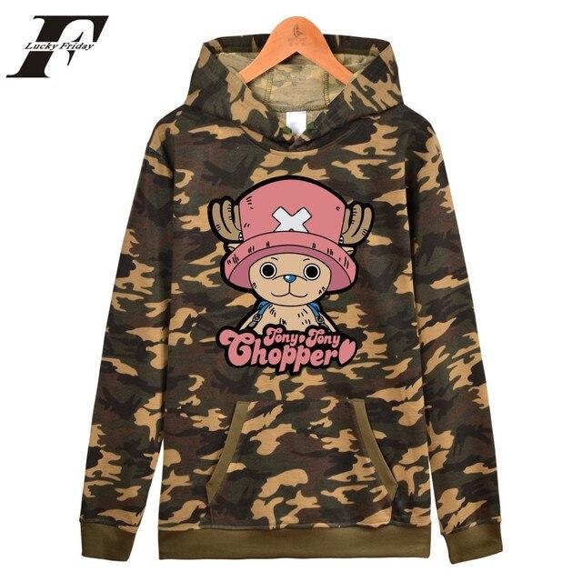 One Piece Monkey D. Luffy Logo Men Hoodie