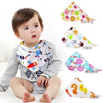 Color Random Baby Bape Bandana Bibs Dribble Bibs Monkey APE Cute Saliva Towels