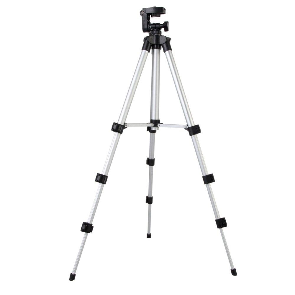 Aluminum Professional Camera Tripod Stand Mount Holder Flexible with Carry Bag for Video SLR DSLR Digital