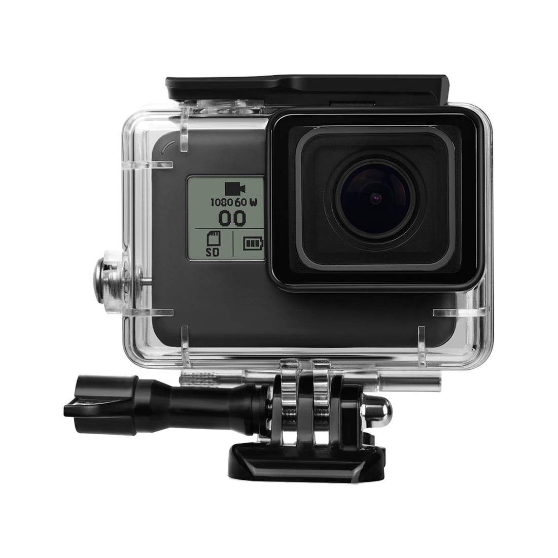 45M Underwater Waterproof Protective Housing Case with Quick Release Mount and Thumbscrew for GoPro HERO 5 Action Camcorder gopro hero 5 dome port 6 gopro lens dome port cover underwater housing case for gopro hero 5 shoot