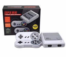 Super mini TV Family Game Console 8 Bit Retro Video Game Console Built-In 400 Games Handheld Gaming Player