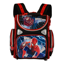 Orthopedic Breathable Children School Bag For Girls Butterfly School Backpacks Child Cartoon Spiderman Boy Backpack Kids Satchel