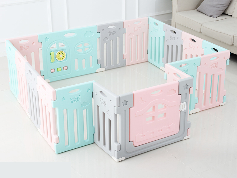 Plastic indoor baby playpen china wholesale baby fence