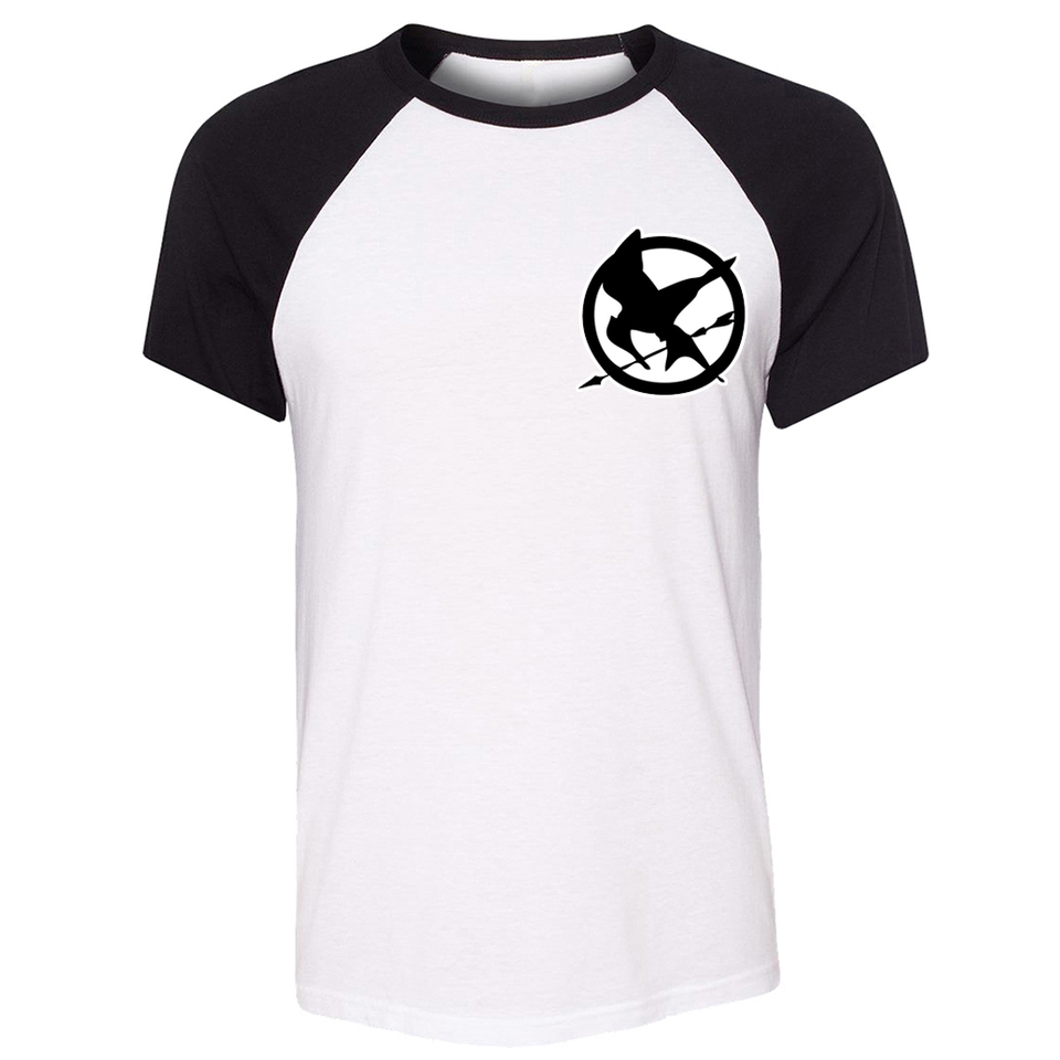 The Hunger Games Symbol Spring Love Tee Men Cotton Short Sleeve