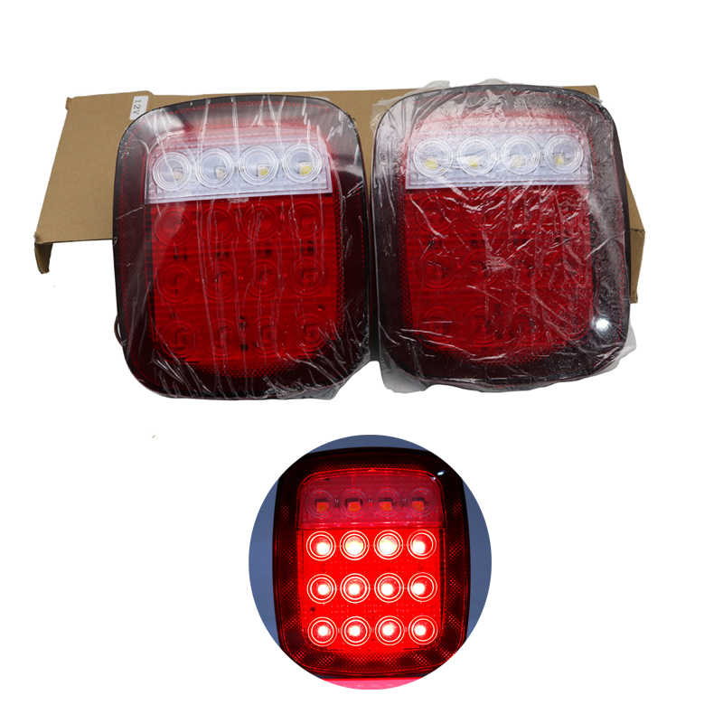 12V Rear Lamp Led Tail Light with Brake Light Running and