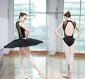 Mujeres adultas ballet traje negro sexy body fajas camisola ballet ballet gimnasia leotardo sin mangas señora dress bellet